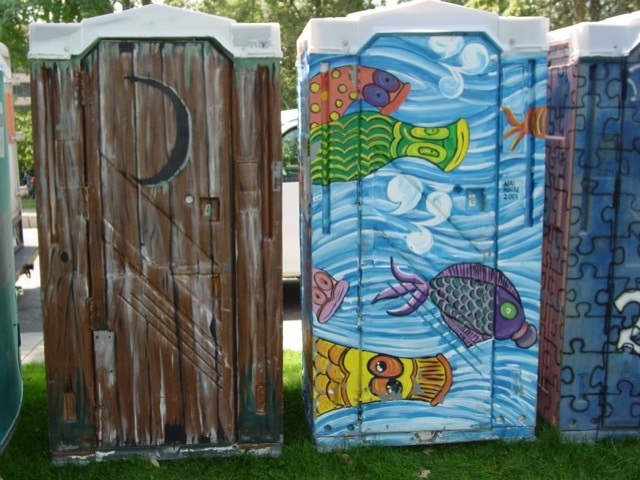 oklahoma city designer porta potties