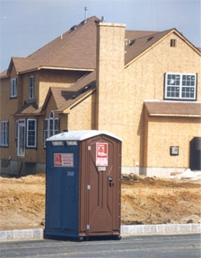 const site portable toilets