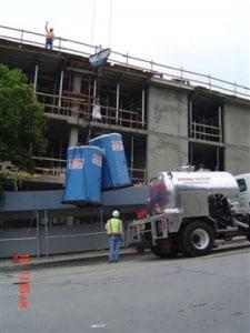 porta potties for oklahoma city ok construction sites